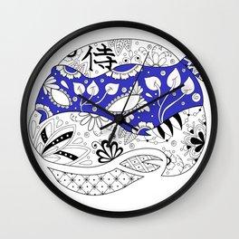 TMNT LEONARDO BLUE Wall Clock