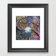Water Consciousness Framed Art Print