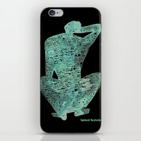 spiritual iPhone & iPod Skins featuring Spiritual Awakening by Margarita Mascaro