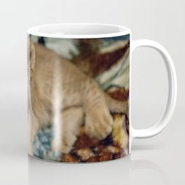 Lambert the Lion and His Blanket Coffee Mug