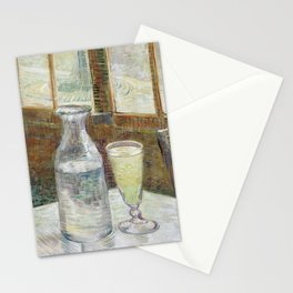 Van Gogh - Café table with absinth, 1887 Stationery Cards