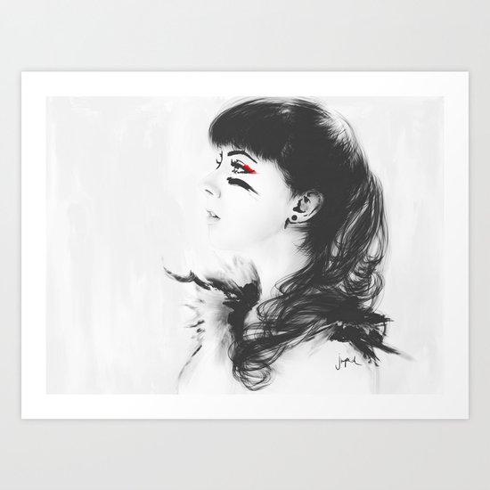 Kacie Marie Art Print