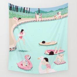 Water fun Wall Tapestry