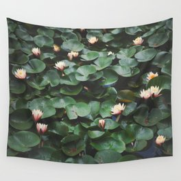 Echo Park Waterlillies Wall Tapestry