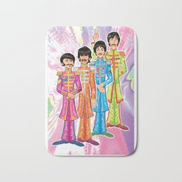 Psychedelic Peppers Bath Mat