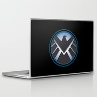 shield Laptop & iPad Skins featuring Shield by livinginamovie