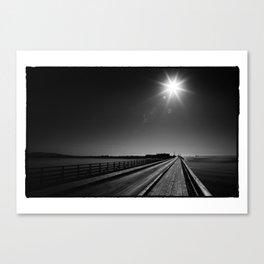 Wooden Bridge_012 Canvas Print
