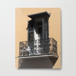New Orleans: French Quarter Balcony Metal Print
