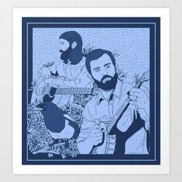 Avett Bros Art Print
