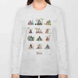 Cabins Diaries Long Sleeve T-shirt