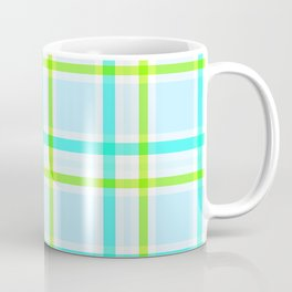 Summer Plaid Coffee Mug