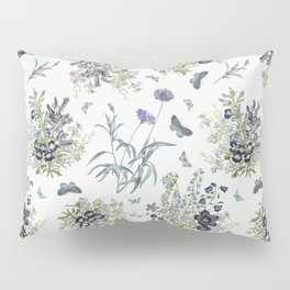 BLUE FLOWERS BOUQUET  Pillow Sham