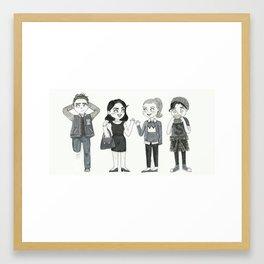 Riverdale - Archie, Veronica, Betty, Jughead Framed Art Print