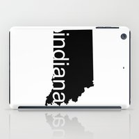 indiana iPad Cases featuring Indiana by Isabel Moreno-Garcia