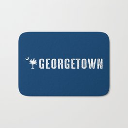Georgetown, South Carolina Bath Mat