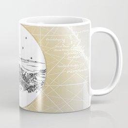 Avalon, Santa Catalina Island, California City Skyline Coffee Mug