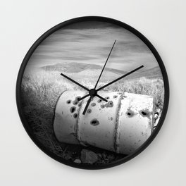 and I am the faithful husband of the rain Wall Clock