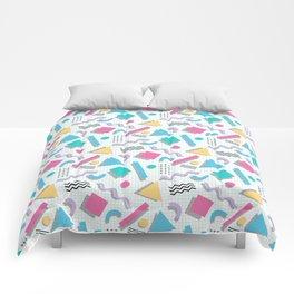 Memphis Shapes Comforters