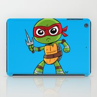 tmnt iPad Cases featuring TMNT Raphael by thechrishaley