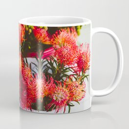 Pincushion Protea at Mong Kok Flower Market Coffee Mug