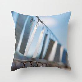 Chime Away Throw Pillow