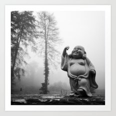 Morning Buddha Art Print