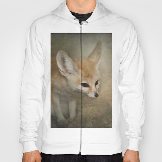 Little Fennec Fox Hoody