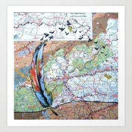 Asheville - Fly High Art Print