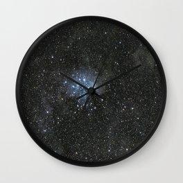 Pleiades. Wall Clock