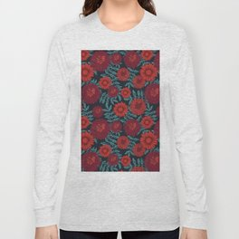 Daisy & Peonies Long Sleeve T-shirt