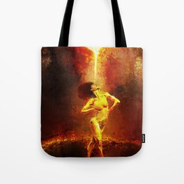 Forged Not Fabricated Tote Bag