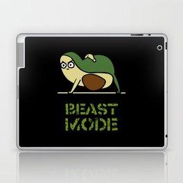 Beast Mode Avocado Laptop & iPad Skin