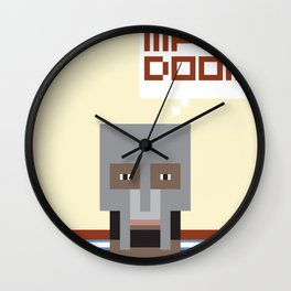 Metal Face Wall Clock