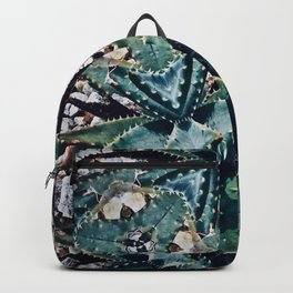 Succulents On Show No 3 Backpack