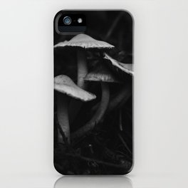 Huddled Mushrooms of the Pacific Northwest iPhone Case