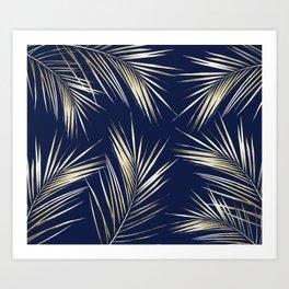 Tropical Leaves 5 Art Print