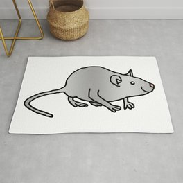 Year of the Rat - Metal Rug