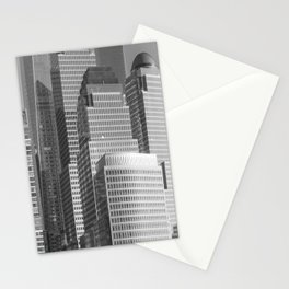 """Urban Angles 1 bw"" by Murray Bolesta Stationery Cards"