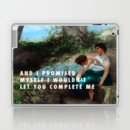 Henryk Siemiradzki, Conversation (1883) / Halsey, Is There Somewhere (2014) Laptop & iPad Skin