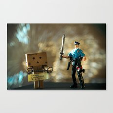 Busted Canvas Print