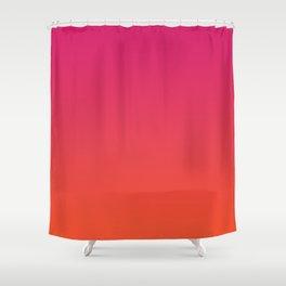 Flavored Sunrise Shower Curtain