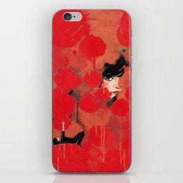 Ma rose à moi iPhone Skin