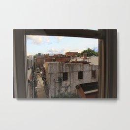 Rooftop Haven Metal Print