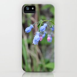 The Bluebells iPhone Case