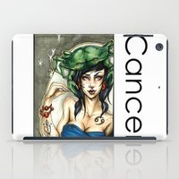 cancer iPad Cases featuring Cancer by TammyWitzens