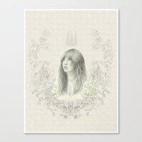 stevie nicks Canvas Prints featuring Stevie Nicks by leannebalderson