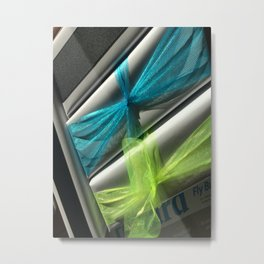 Everyday Series - wrapped blue and green Metal Print
