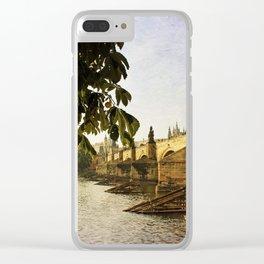 Charles Bridge Clear iPhone Case