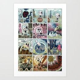 Teat~Pee Art Print