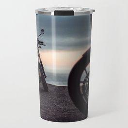 Moto sunset Travel Mug